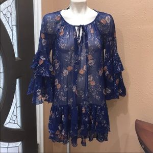 FREE PEOPLE TUNIC GREAT CONDITION SIZE M